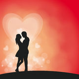 Romantiker kopplar ihop Royaltyfri Foto
