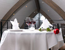 Romantisch diner royalty-vrije stock foto