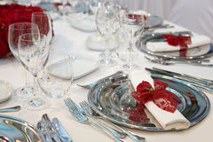Romantisch diner Royalty-vrije Stock Foto's