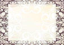 Romantisch frame Stock Afbeeldingen