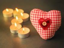 Romantisch hart Stock Fotografie