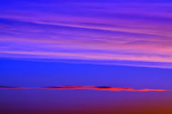 Romantisch hemels landschap Royalty-vrije Stock Afbeeldingen