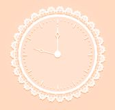 Romantisch Horloge stock illustratie