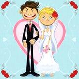 Romantisch Huwelijk Royalty-vrije Stock Foto