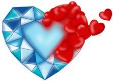 Romantisch ijs stock illustratie