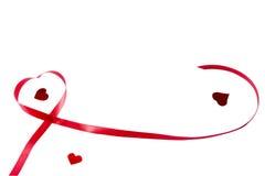 Romantisch lint Stock Fotografie