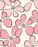 Romantisch naadloos patroon Stock Afbeelding