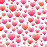 Romantisch naadloos patroon Stock Foto's
