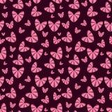 Romantisch naadloos patroon met harten Stock Afbeelding