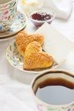 Romantisch ontbijt Royalty-vrije Stock Fotografie