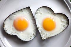 Romantisch ontbijt royalty-vrije stock afbeeldingen