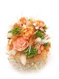 Romantisch oranje boeket Stock Fotografie
