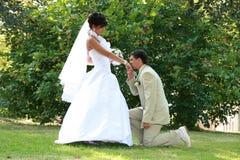 Romantisch paar Royalty-vrije Stock Foto's