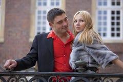 Romantisch paar Royalty-vrije Stock Foto