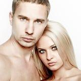 Romantisch paar Royalty-vrije Stock Afbeelding