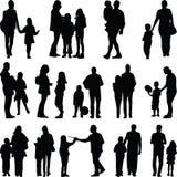 Romantisch paar samen Stock Afbeelding