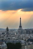 Romantisch Parijs, Frankrijk Royalty-vrije Stock Afbeelding