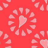 Romantisch patroon Royalty-vrije Stock Foto's