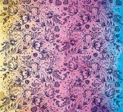 Romantisch regenboogpatroon Royalty-vrije Stock Foto