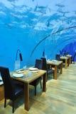 Romantisch Restaurant Royalty-vrije Stock Foto