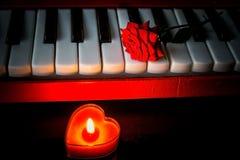 Romantisch stem Stock Foto's
