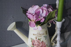 Romantisch stilleven met exemplaarruimte voor tekst Royalty-vrije Stock Afbeeldingen
