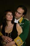 Romantisch van legerdienst Stock Foto