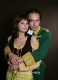 Romantisch van legerdienst Royalty-vrije Stock Fotografie
