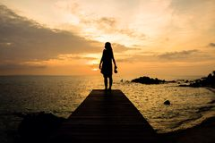 romantisch van mooie hemel stock fotografie