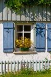 Romantisch venster Stock Fotografie