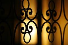 Romantisch venster Stock Afbeeldingen