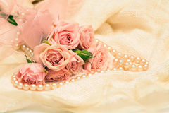Romantische achtergrond Royalty-vrije Stock Foto's