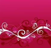 Romantische achtergrond 2 Royalty-vrije Stock Fotografie