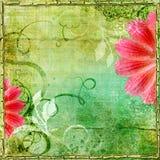 Romantische achtergrond Stock Foto