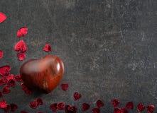 Romantische achtergrond, het concept van de valentijnskaartendag Royalty-vrije Stock Afbeeldingen