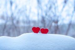Romantische achtergrond over liefde en minnaars Royalty-vrije Stock Afbeelding