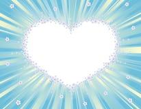 Romantische achtergrond (valentijnskaart, huwelijk?) Royalty-vrije Stock Foto's