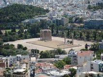 Romantische Ansicht Santorini lizenzfreie stockfotos