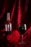 Romantische avond stock fotografie