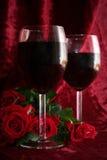 Romantische avond royalty-vrije stock foto's