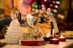 Romantische avond Royalty-vrije Stock Afbeeldingen