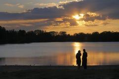 Romantische avond Royalty-vrije Stock Foto
