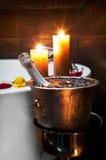 Romantic spa Stock Afbeelding