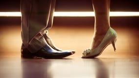 Romantische Beine Stockfoto
