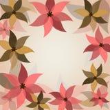 Romantische bloemachtergrond Stock Afbeeldingen