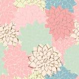 Romantische Blumen-Hintergrundeinladungskarte Stockfoto
