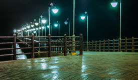Romantische Brücke Stockfoto