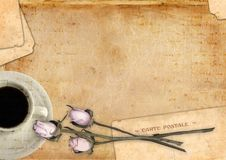 Romantische brieven lege reeks Royalty-vrije Stock Afbeeldingen
