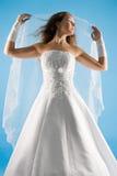 Romantische bruid Stock Foto
