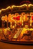 Romantische carrousel Stock Afbeeldingen